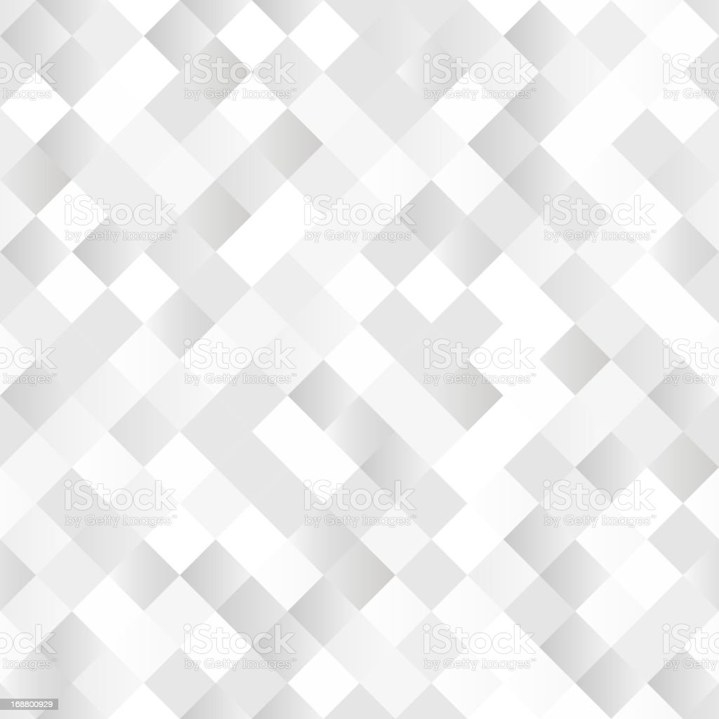 Seamless background with shiny silver squares Seamless background with shiny silver squares Abstract stock vector