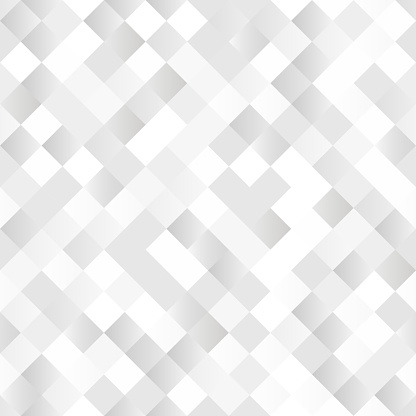 Seamless Background With Shiny Silver Squares Stock Illustration - Download Image Now