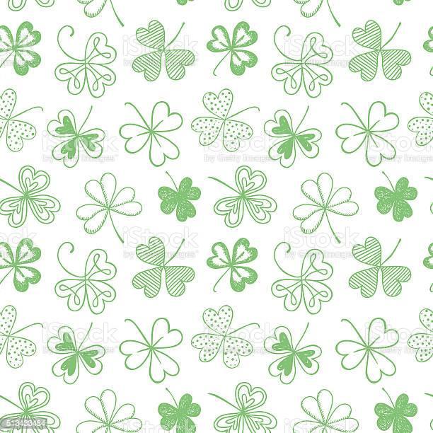 Seamless background with three leaf clover vector id513433484?b=1&k=6&m=513433484&s=612x612&h=c ztudnkanvrhx42fqebggblaocr7hdq2elz5os1tng=