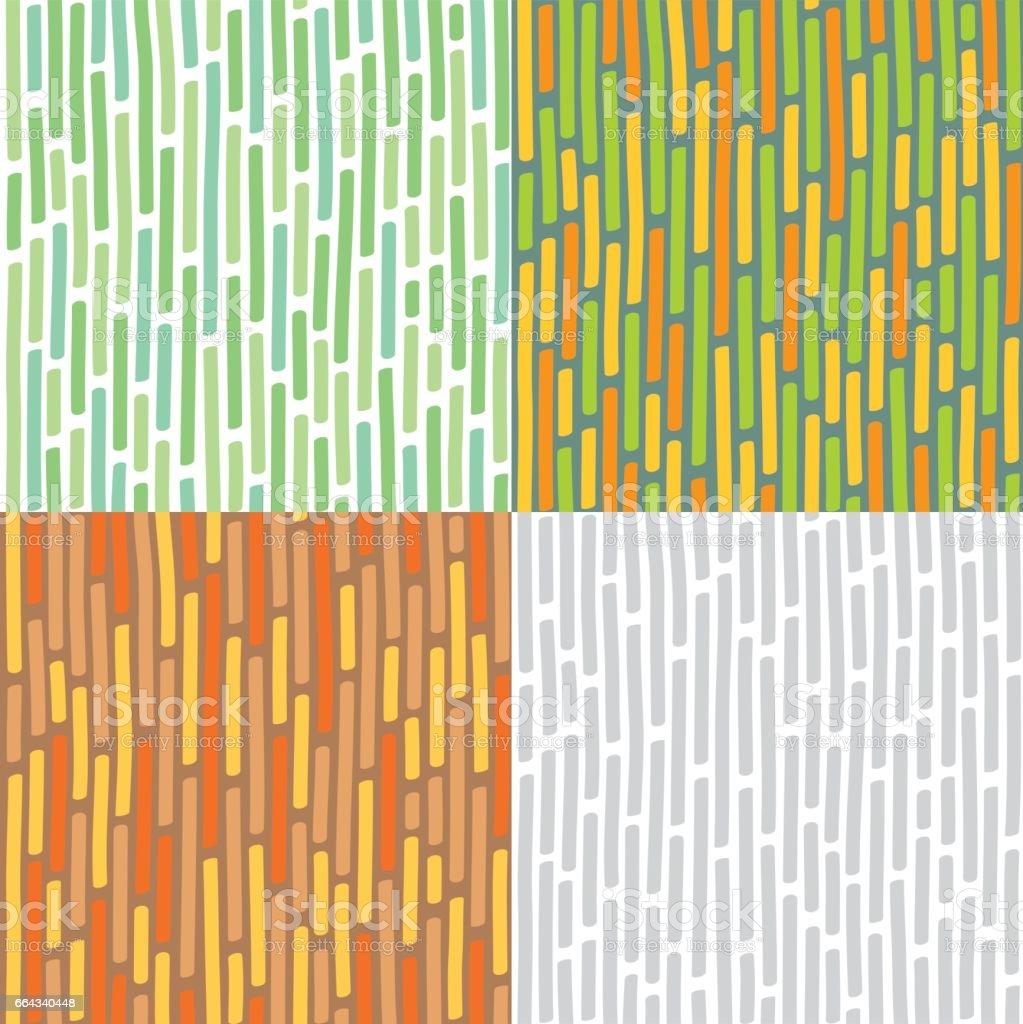 Nahtlose Hintergrund mit vertikalen Linien – Vektorgrafik