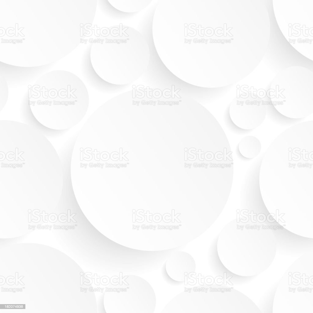 A seamless background with white circles royalty-free stock vector art