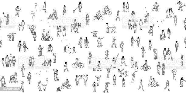 Seamless banner of tiny people vector id693984968?b=1&k=6&m=693984968&s=612x612&h=aptzjwwazx fpl wv p6ooopz0v5zyezm gdfvfjtck=