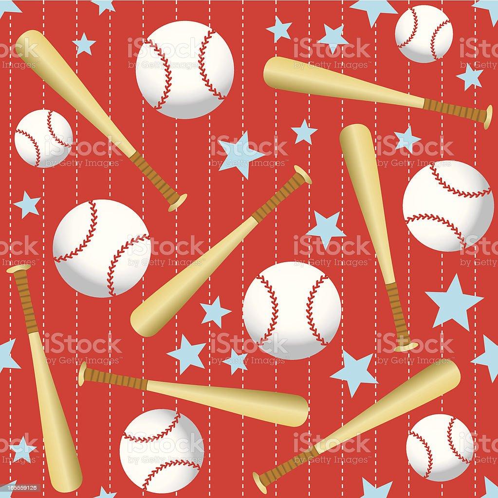 Seamless Baseball Background Stock Illustration Download Image Now Istock