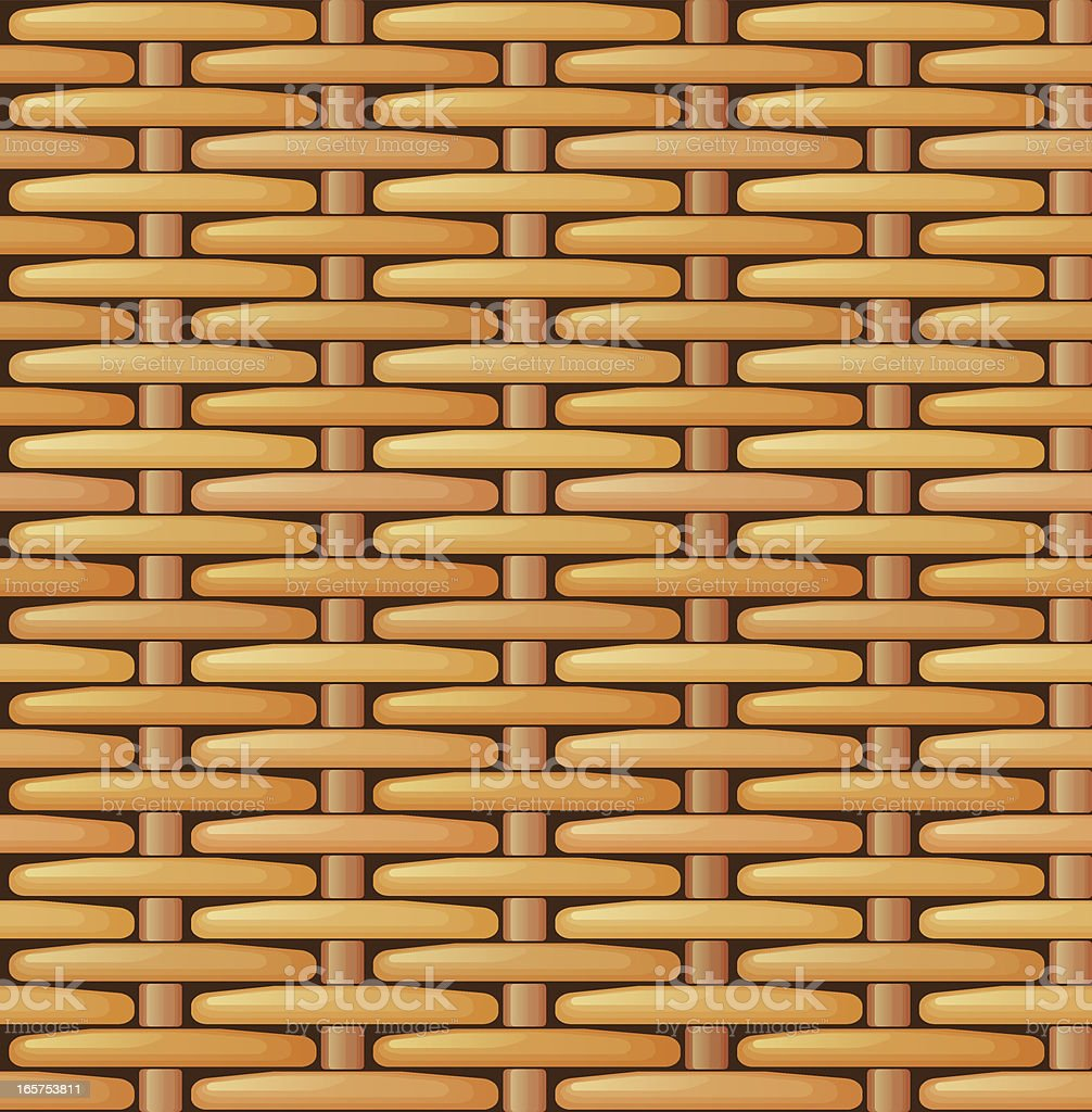 Seamless basket texture royalty-free seamless basket texture stock vector art & more images of backgrounds