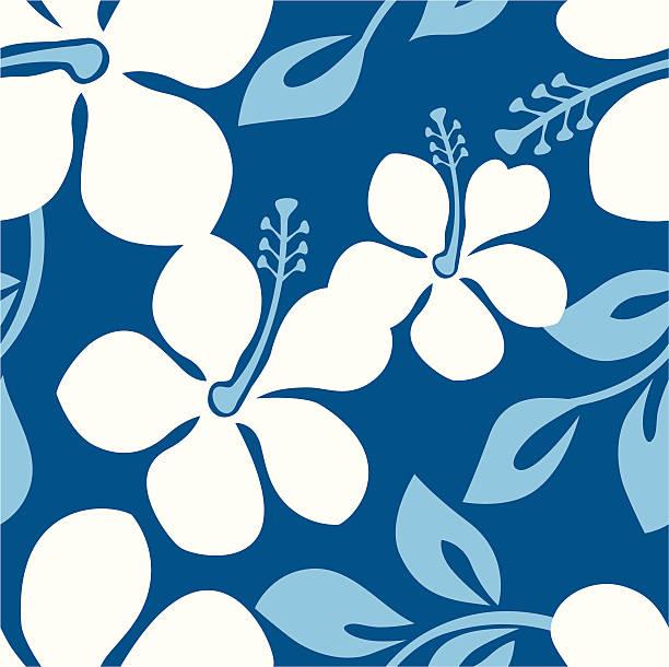 Seamless Beach Party Pattern vector art illustration