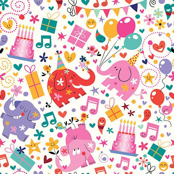 illustrations, cliparts, dessins animés et icônes de joyeux anniversaire motif - ballon anniversaire smiley
