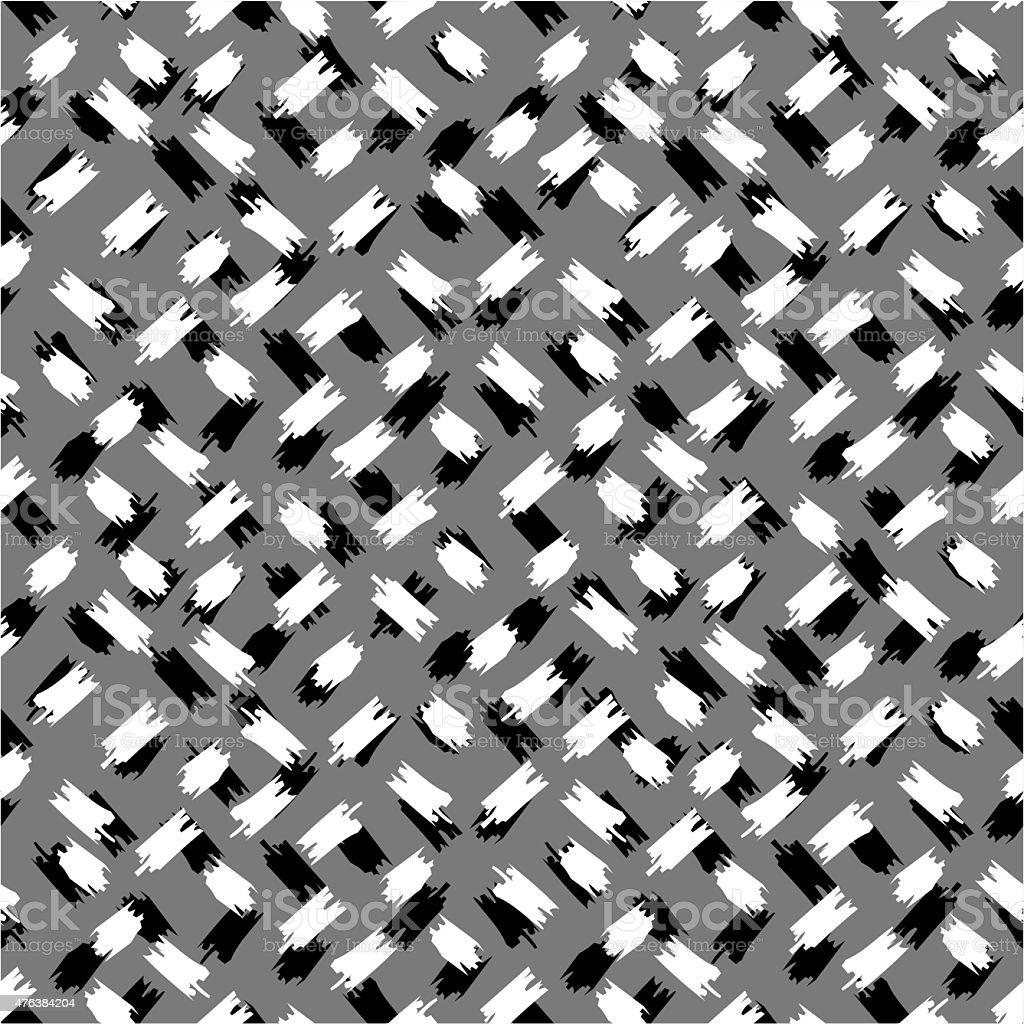 Nahtlose Schwarz Und Weiß Abstrakte Muster Stock Vektor Art Und Mehr