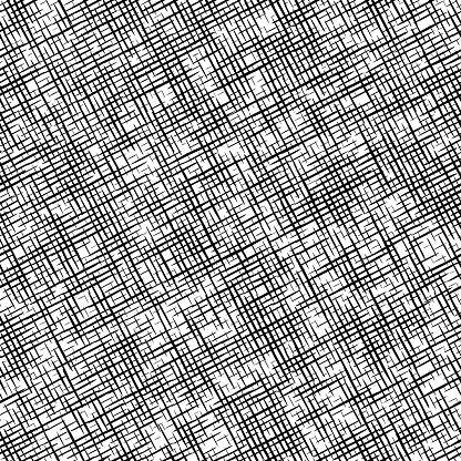 seamless  black and white canvas textured pattern