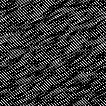 seamless  black and white  hatch textured pattern