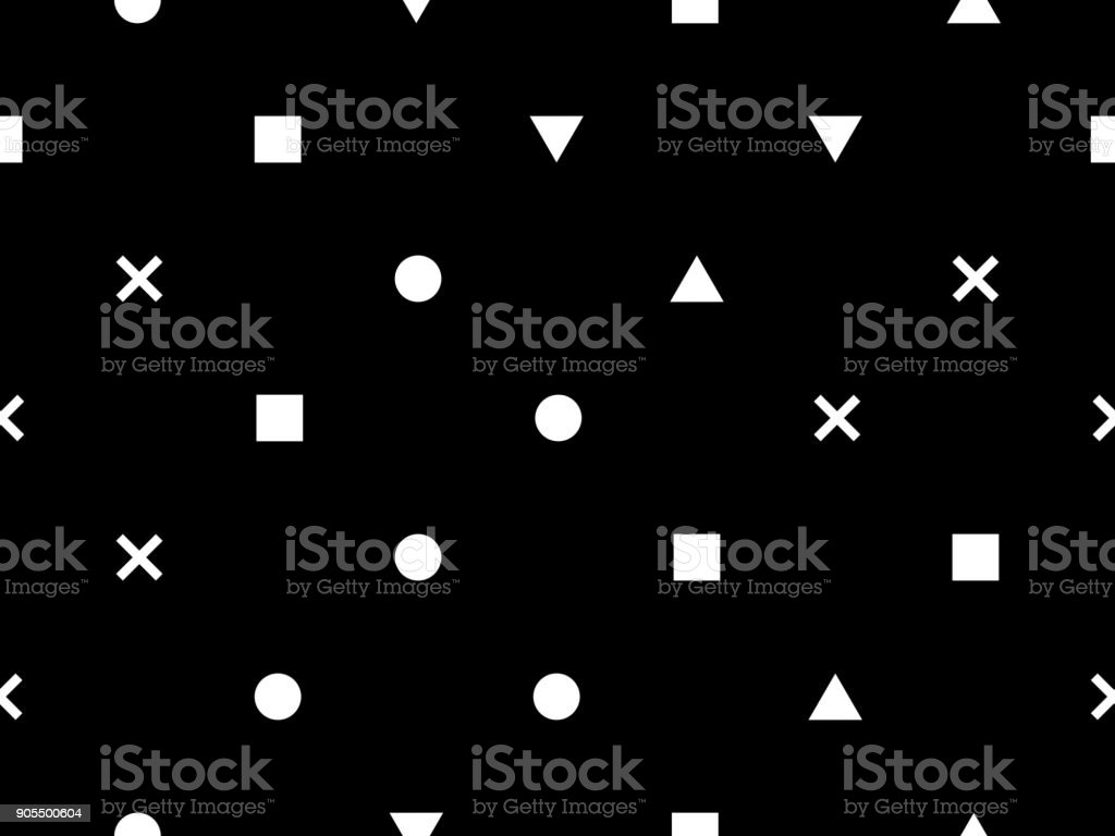 https www istockphoto com vector seamless black and white minimal geometric pattern vector background perfect for gm905500604 249675299