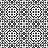 Seamless black and white thorn pattern design background