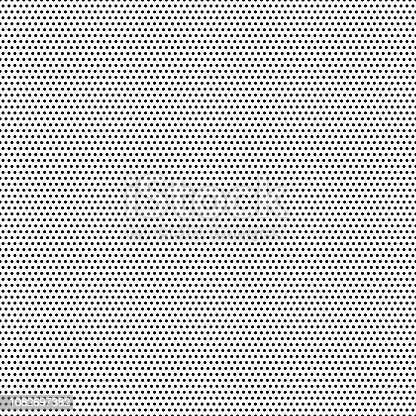 Seamless black dots - white background - vector Illustration