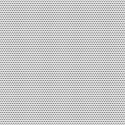 Seamless black dots - white background - vector Illustration