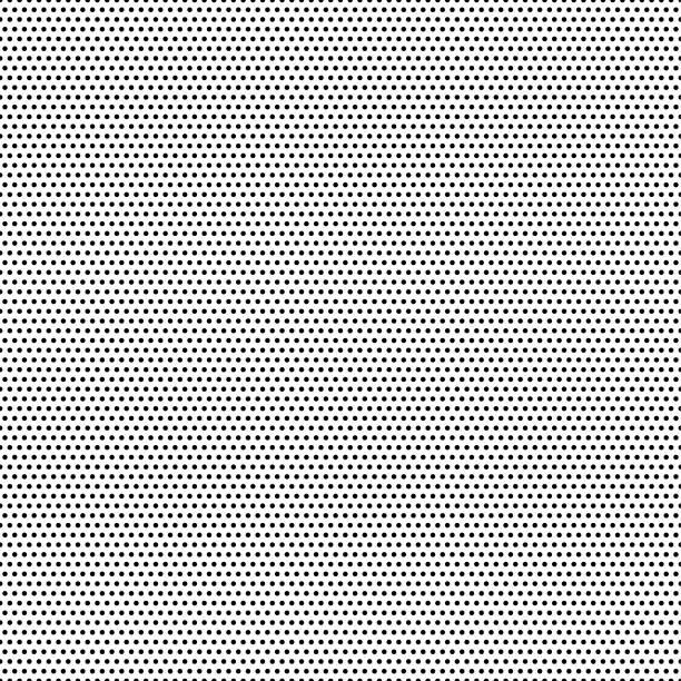 stockillustraties, clipart, cartoons en iconen met naadloze zwarte stippen - witte achtergrond - vector illustratie - pattern