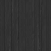 Seamless black wooden background. Vector