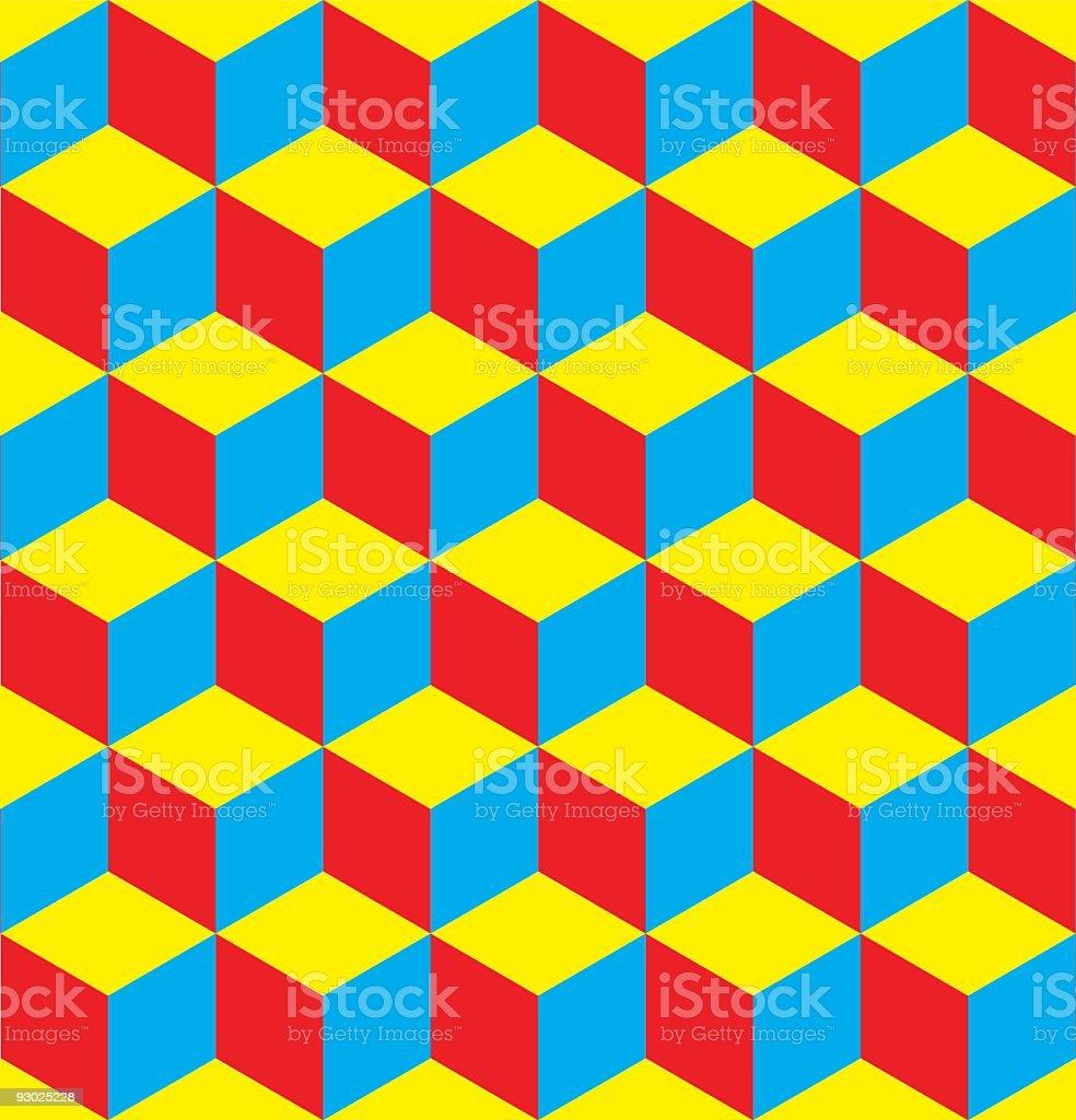 Seamless Blocks royalty-free stock vector art