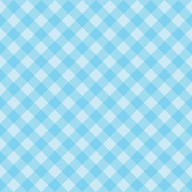seamless blue checkered pattern - 美麗的人 幅插畫檔、美工圖案、卡通及圖標
