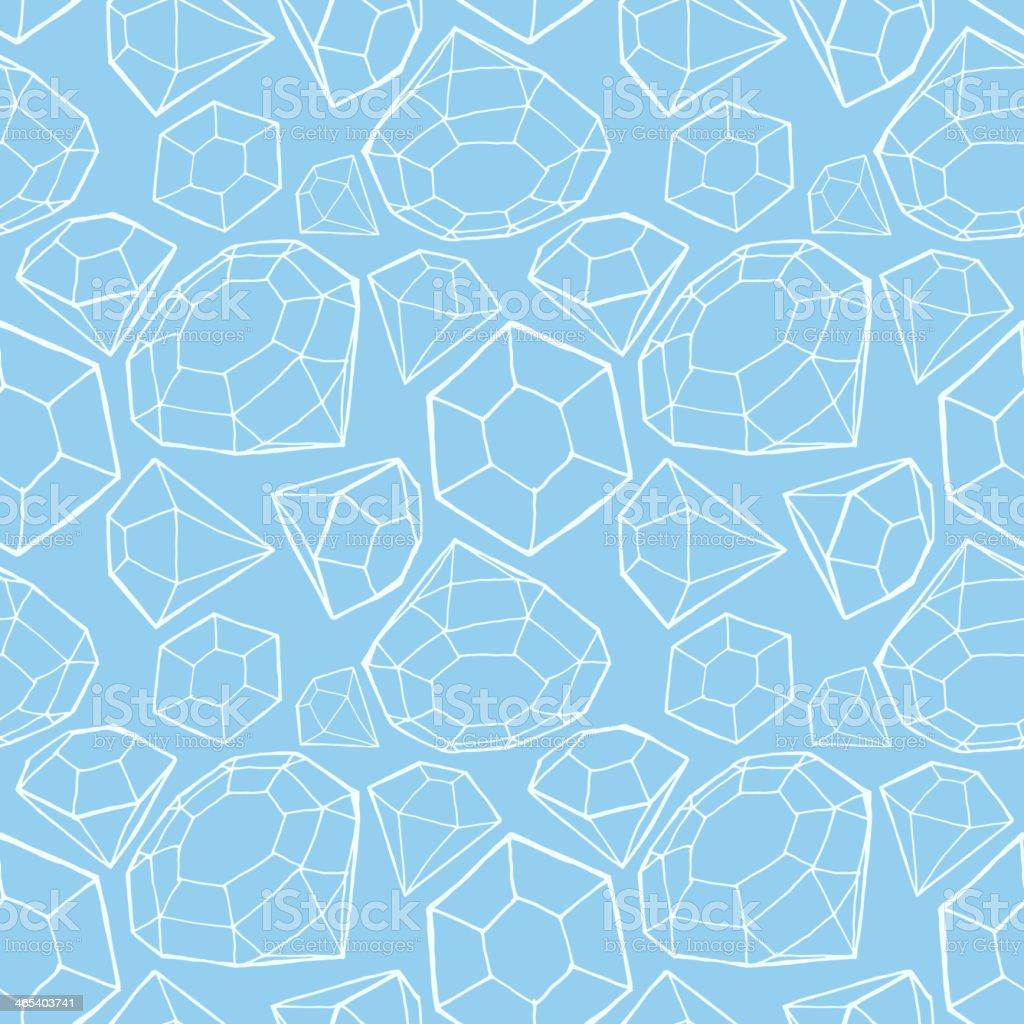 A seamless blue diamond pattern royalty-free a seamless blue diamond pattern stock vector art & more images of backdrop