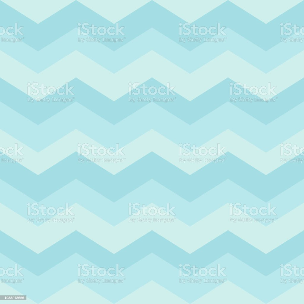 Seamless Blue Zigzag Pattern Waves Background For Childrens Bedroom ...