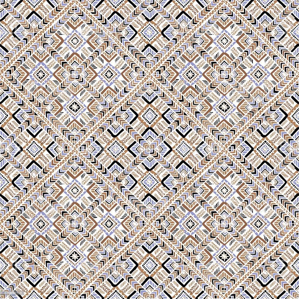 Patrón sin costuras estilo Boho - ilustración de arte vectorial