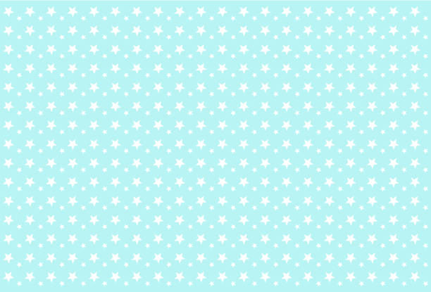 Seamless boyish pattern. White stars on blue background. Backdrop for invitation card, wrapper and decoration party (wedding, baby boy shower, birthday) Cute wallpaper for prince's style child's room. bedroom borders stock illustrations