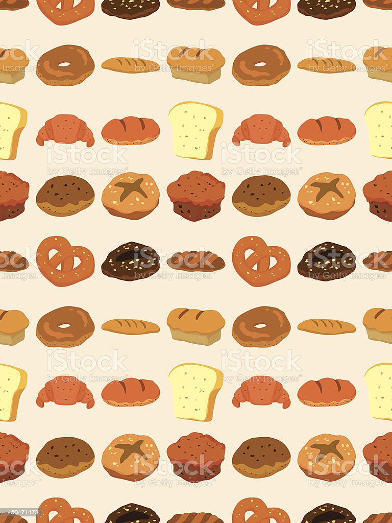 seamless bread pattern royalty-free stock vector art
