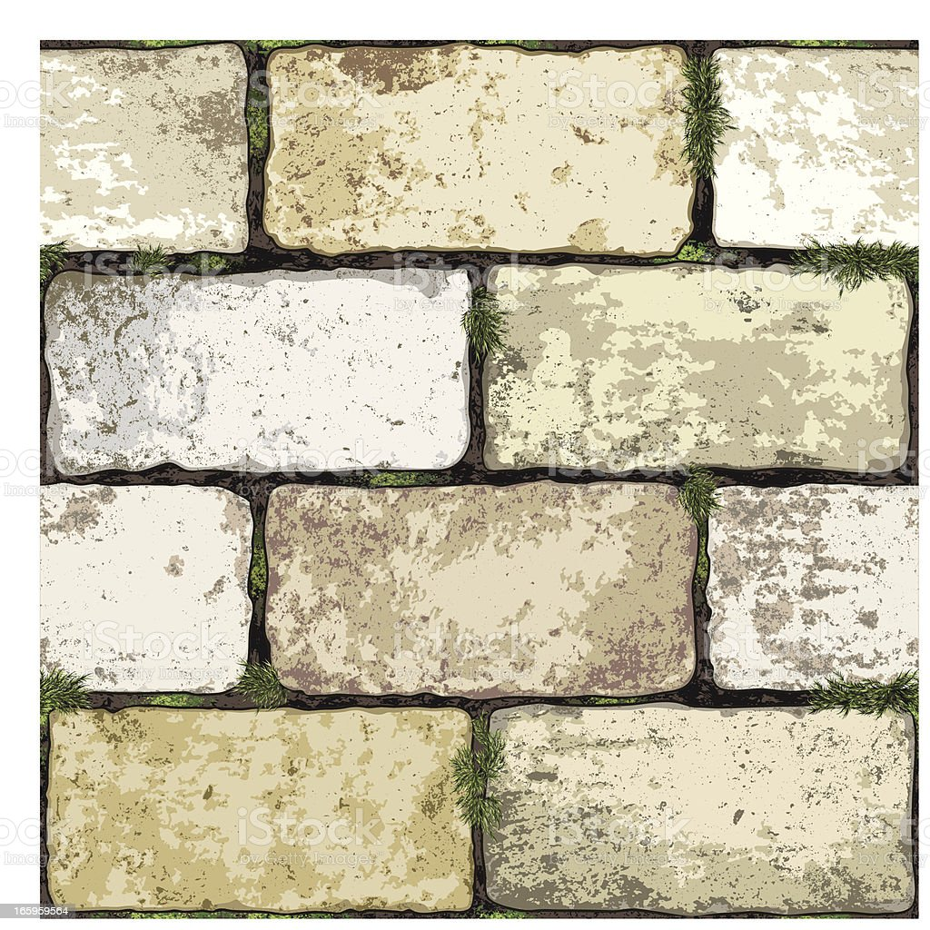 seamless brick wall background royalty-free stock vector art