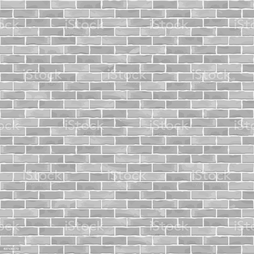 Seamless Brick Wall Background - Illustration vectorielle