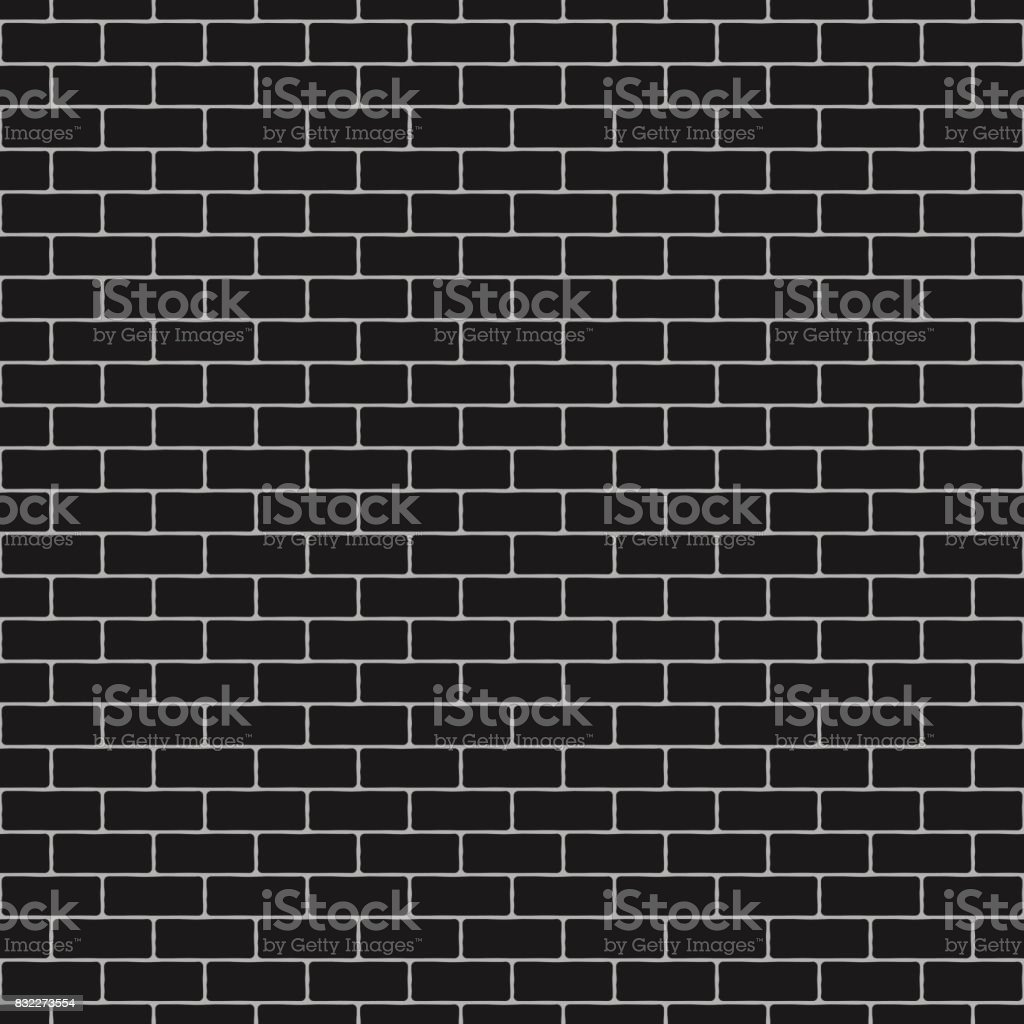 Seamless brick wall background. Vector illustration - texture pattern. vector art illustration