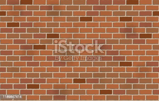 seamless brick wall pattern background