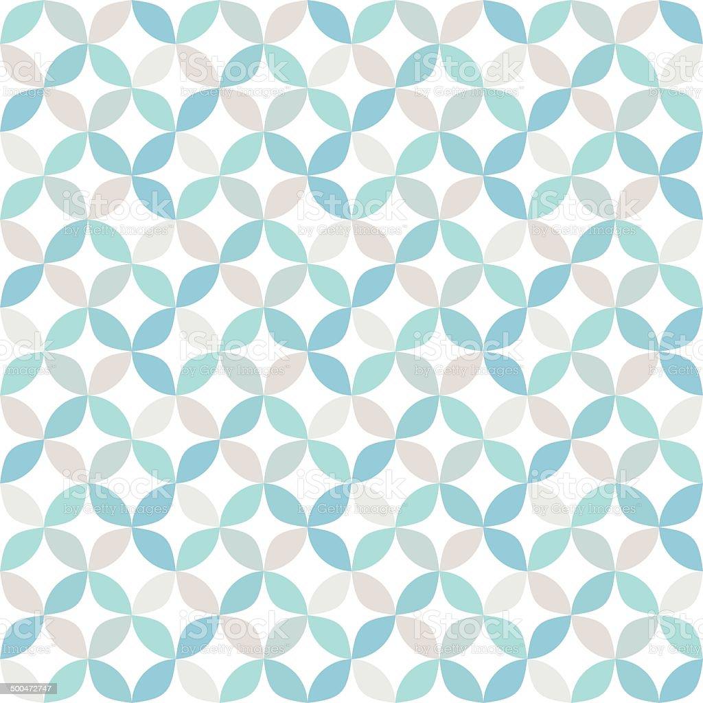 Seamless bright geometric circle pattern. vector art illustration