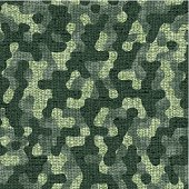 Seamless camouflage fabric (green colors)