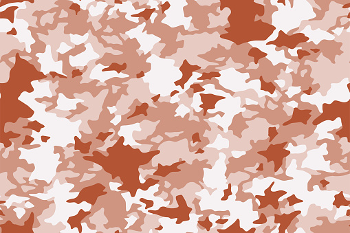 Seamless camouflage texture skin pattern vector for military textile. Usable for Jacket Pants Shirt and Shorts.