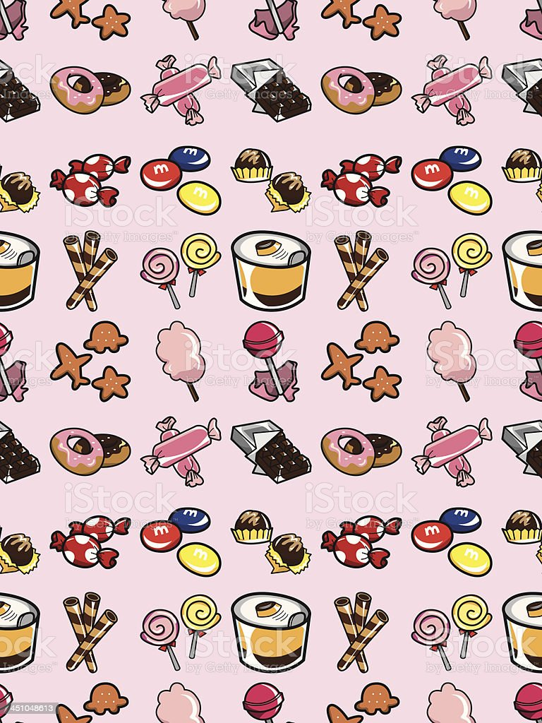 seamless candy pattern royalty-free stock vector art