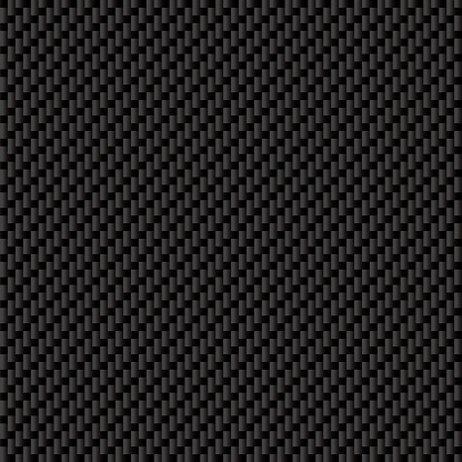Seamless Carbon Fiber Texture Vector Stock Illustration - Download Image Now - iStock