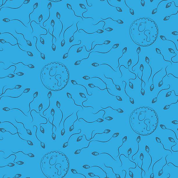 nahtlose zellen muster - eizelle stock-grafiken, -clipart, -cartoons und -symbole