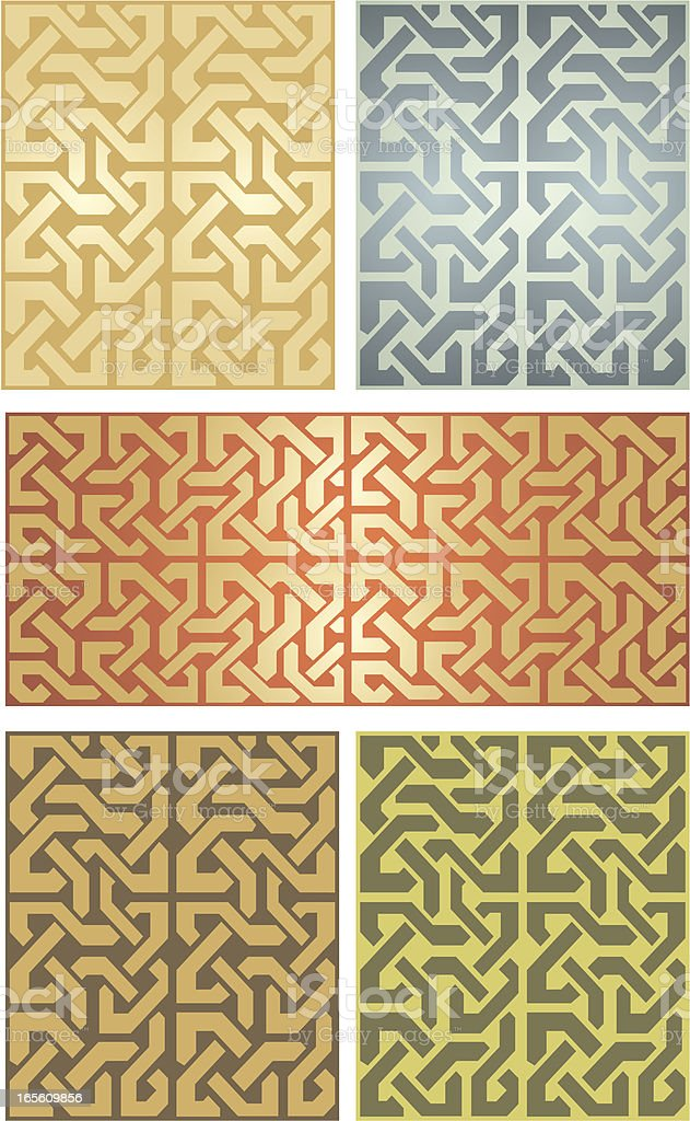 Seamless Celtic Set royalty-free seamless celtic set stock vector art & more images of antique