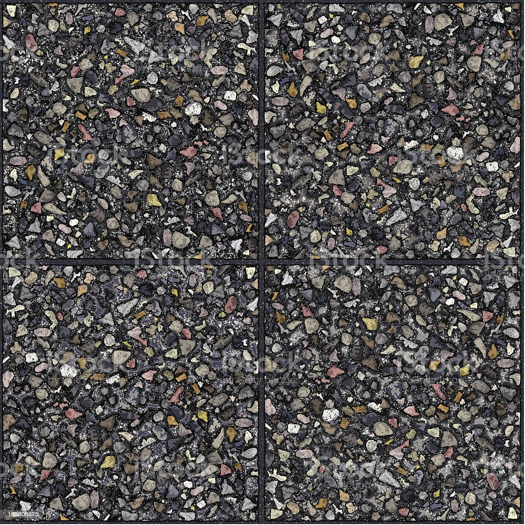 seamless cement gravel tiles background royalty-free stock vector art