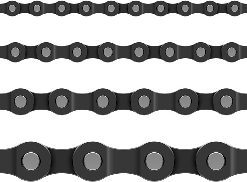 Seamless chain patterned background