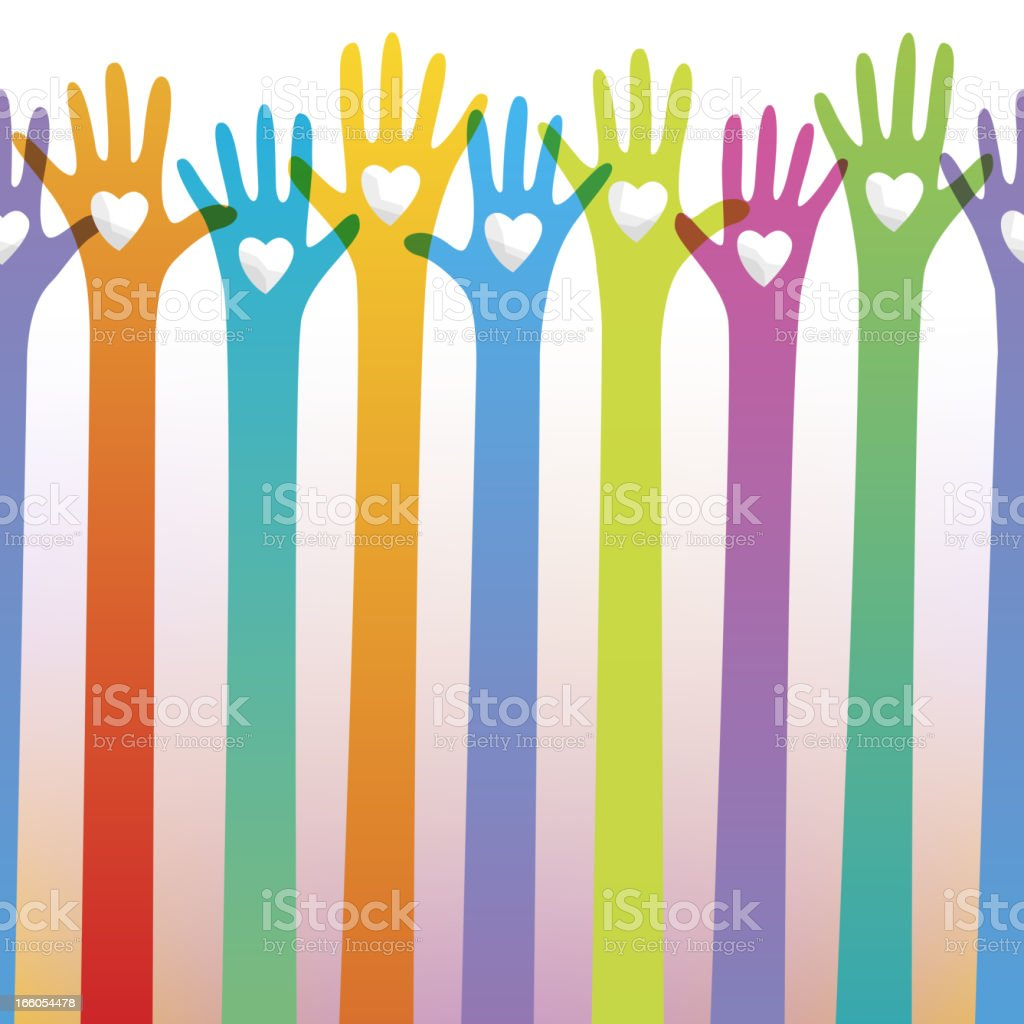 Seamless charity concept royalty-free seamless charity concept stock vector art & more images of a helping hand