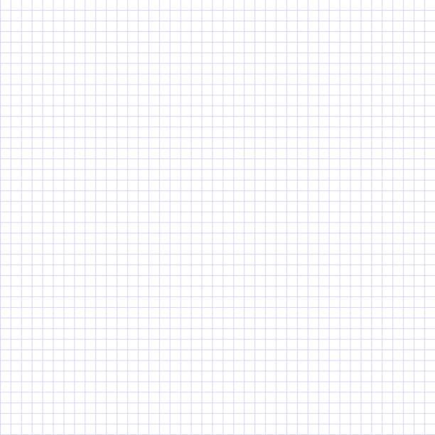nahtlose kariertes papierhintergrund. vektor-papier-vorlage. - geometriestunde grafiken stock-grafiken, -clipart, -cartoons und -symbole