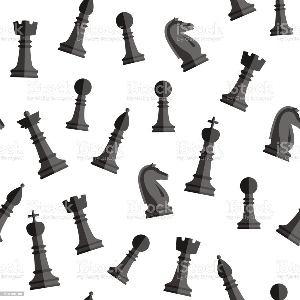 Seamless Chess Background Stock Vector Art & More Images ...