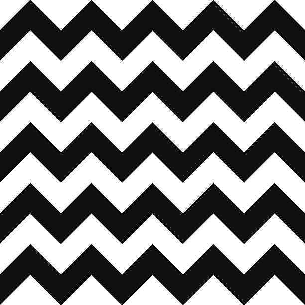 ... Seamless chevron pattern vector art illustration ...