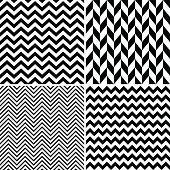 Seamless chevron patterns