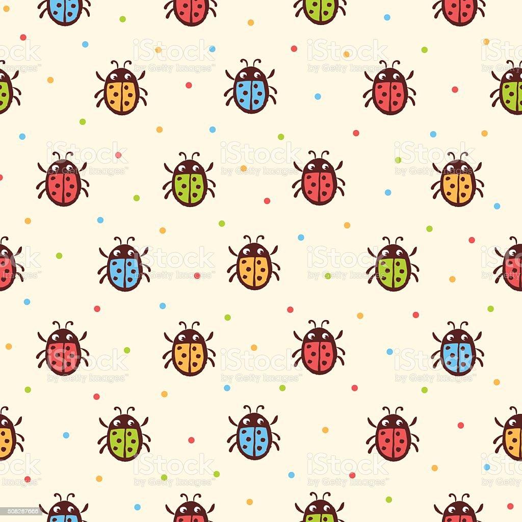 Atractivo Patrón De Crochet Libre De La Mariquita Modelo - Patrón de ...