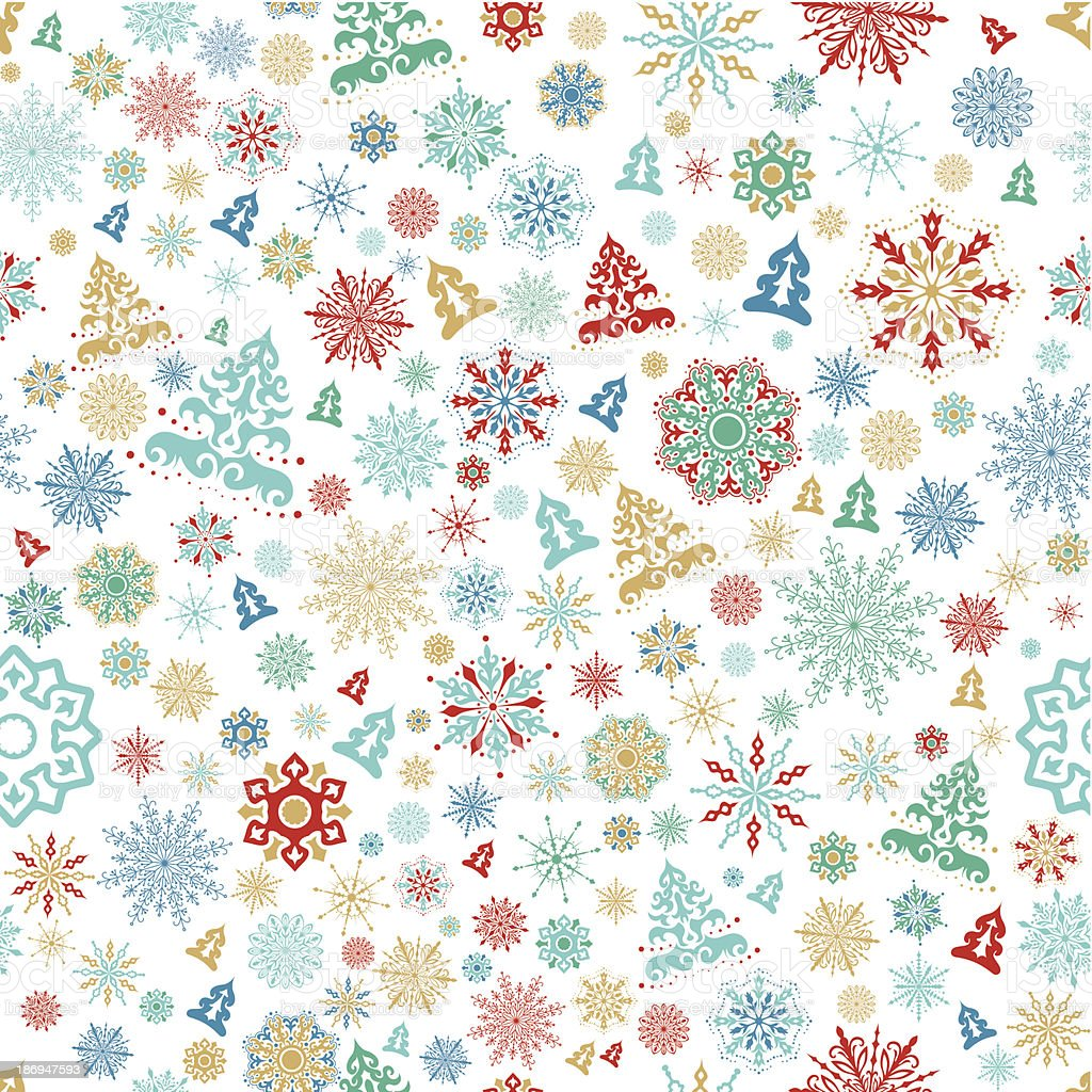 Seamless christmas background royalty-free seamless christmas background stock vector art & more images of backgrounds