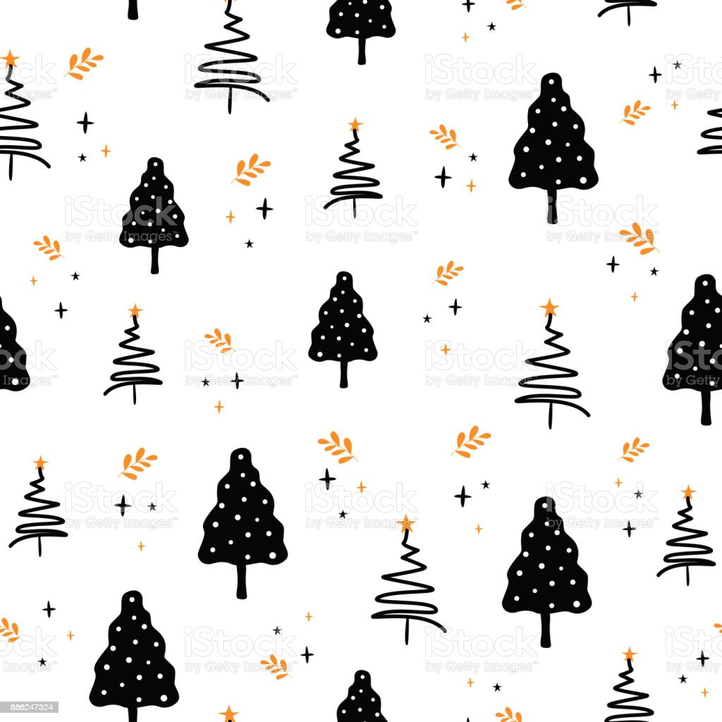 seamless christmas pattern new years vector background nice illustrations for greeting cards