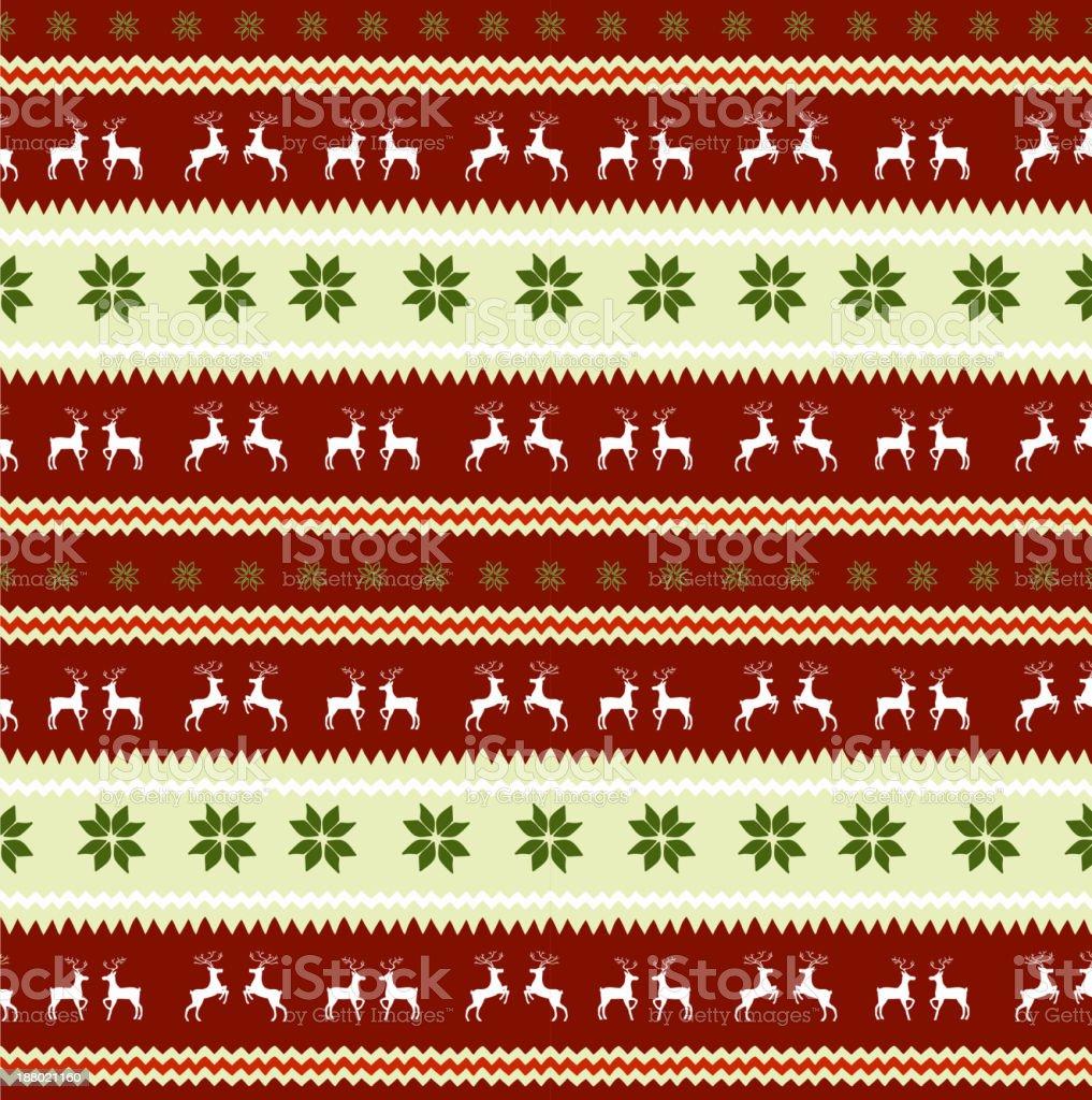 seamless Christmas pattern royalty-free seamless christmas pattern stock vector art & more images of animal markings