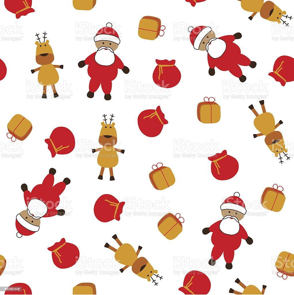 Ilustración de Patrón Sin Costuras De Navidad y más banco de ...