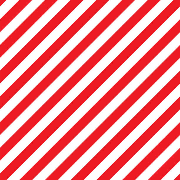 seamless christmas stripe pattern. vector image. - pasiasty stock illustrations